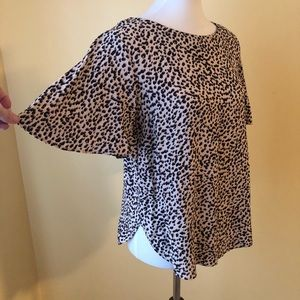 Adorable leopard print shirt